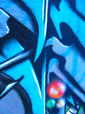 Graffiti.Texture Stock Photography