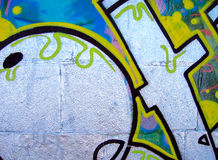Graffiti.Texture Royalty Free Stock Photography