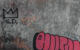 Graffiti texture for your website royalty free stock image