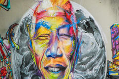 Graffiti - Uliczna sztuka Zdjęcie Royalty Free