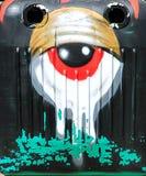 Graffiti - Uliczna sztuka Fotografia Royalty Free