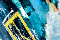 Graffiti - uliczna sztuka - obraz Obraz Royalty Free