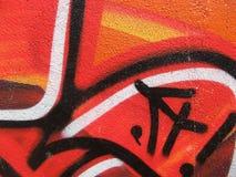 Graffiti und Marken Lizenzfreies Stockfoto