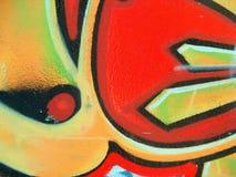 Graffiti und Marken Lizenzfreie Stockfotos