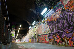 Graffiti underground Royalty Free Stock Photos