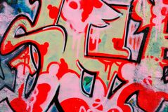 Graffiti - urban art Royalty Free Stock Photos