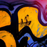 Graffiti in the urban Royalty Free Stock Photo