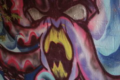 Graffiti Urban Royalty Free Stock Image