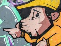 Graffiti urban style Stock Photo