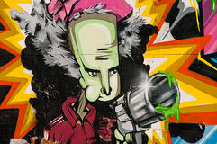 GRAFFITI URBANI Fotografie Stock Libere da Diritti