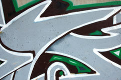 Graffiti urbani Fotografia Stock Libera da Diritti