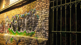 Graffiti urbani Immagine Stock Libera da Diritti