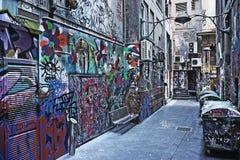 Graffiti urbani 2 della via Fotografie Stock Libere da Diritti