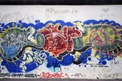 Graffiti van Berlijn royalty-vrije stock afbeelding