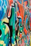 De graffiti van Nice Stock Afbeeldingen