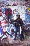 Graffiti Vandal Stock Images