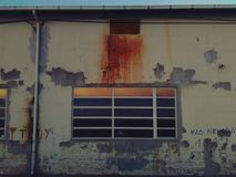 Graffiti vieux Photographie stock