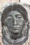 Graffiti w Carthagena, Kolumbia zdjęcie royalty free