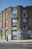 Graffiti w Hackney Wick zdjęcia stock