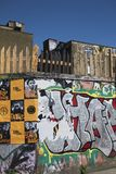 Graffiti w Hackney Wick obrazy stock