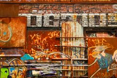 Graffiti w Montreal Obrazy Stock