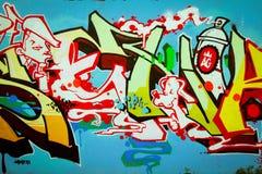 Graffiti w Montreal Zdjęcie Royalty Free
