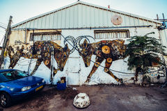 Graffiti w Tel Aviv Zdjęcie Stock