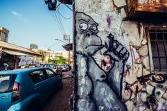 Graffiti w Tel Aviv Zdjęcia Royalty Free