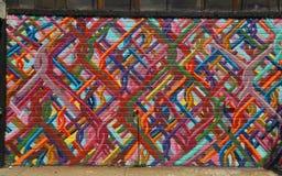 Graffiti w Williamsburg sekci w Brooklyn Obrazy Stock
