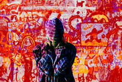 Graffiti Wall Royalty Free Stock Photography