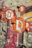 Graffiti on wall. Royalty Free Stock Photos