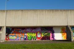 Graffiti wall. Stock Photography