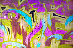 Graffiti wall Stock Photos