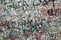 Graffiti wall Royalty Free Stock Image