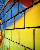 Graffiti wall. Abstract graffiti wall Stock Image