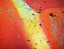 Graffiti wall. Close up Stock Photo