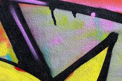 Graffiti on a wall abstract background Royalty Free Stock Photo