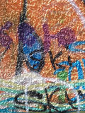 Graffiti on the Wall Royalty Free Stock Image
