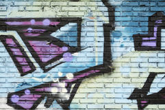 Graffiti wall background. Abstract nice Royalty Free Stock Image
