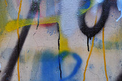 Graffiti Wall Royalty Free Stock Photo