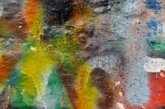 Graffiti Wall. Background image of a urban graffiti old wall texture Royalty Free Stock Photos