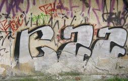 Graffiti Wall Background Royalty Free Stock Photos