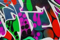Graffiti wall background / texture Royalty Free Stock Photography