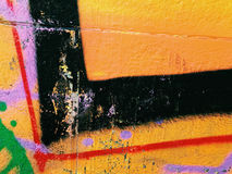 Graffiti wall background. Urban street art vector illustration