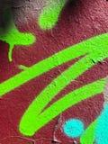 Graffiti wall background. Urban street art. Design Royalty Free Stock Photography