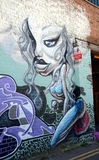 Graffiti wall in Brighton Stock Photography