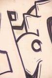 Graffiti on the wall Stock Image
