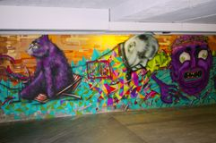 Graffiti wall Royalty Free Stock Photos