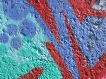 Graffiti wall. Colorful grafitti on wall 2015 Royalty Free Stock Image