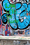 Graffiti on a wall Royalty Free Stock Photography